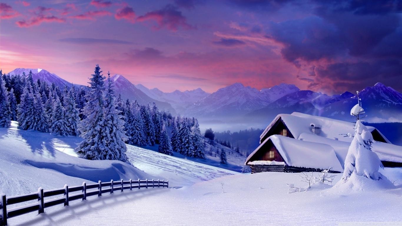 houses under snow ❤ 4k hd desktop wallpaper for 4k ultra hd tv
