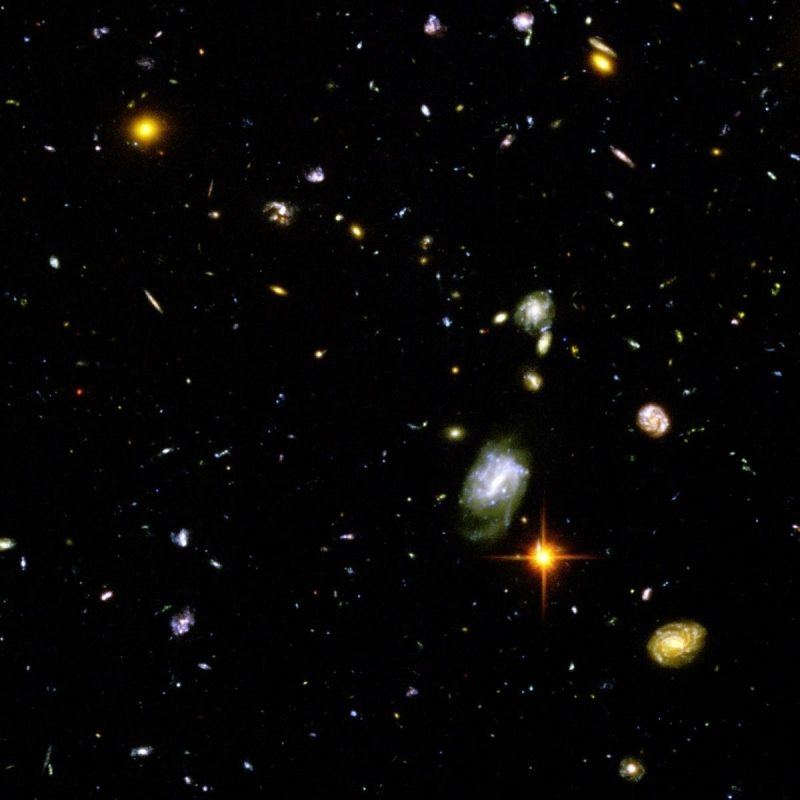 10 Most Popular Hubble Deep Field Image Wallpaper FULL HD 1080p For PC Background 2018 free download hubble deep field space galaxy multiple display wallpapers hd 800x800