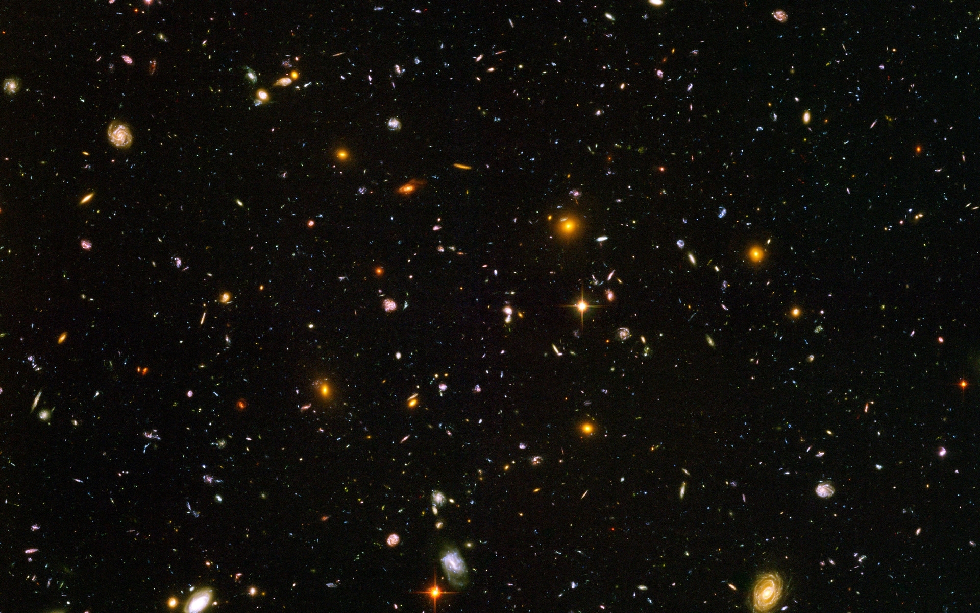 hubble ultra deep field | esa/hubble