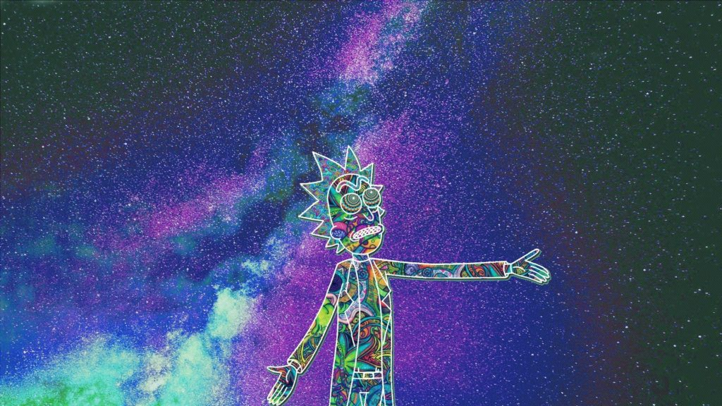 10 Best Trippy Rick And Morty Wallpaper FULL HD 1080p For PC Desktop 2020 free download i edited this trippy rick wallpaper for myself figured some of 1024x576