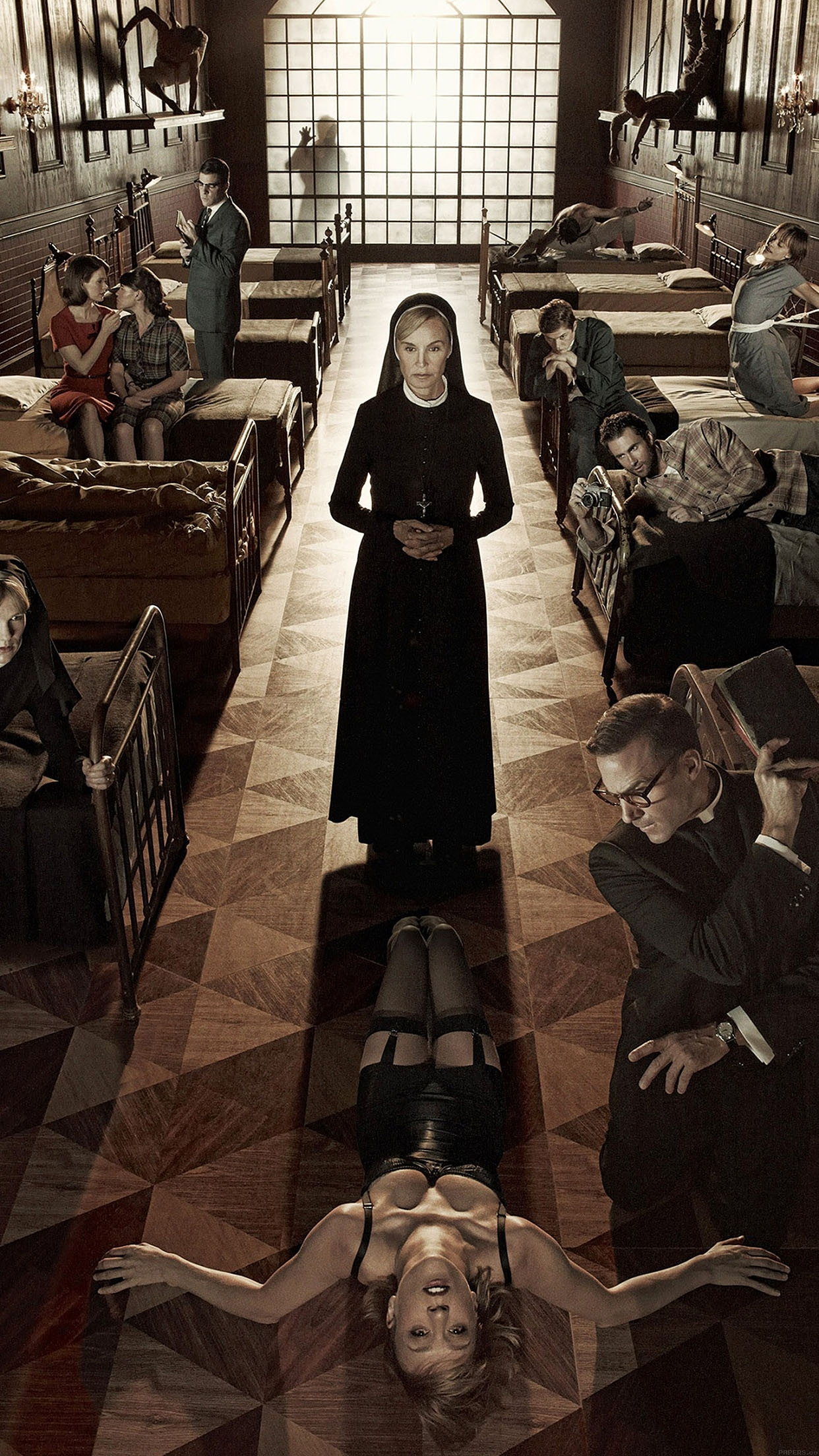 10 top american horror story asylum wallpaper full hd 1080p for pc