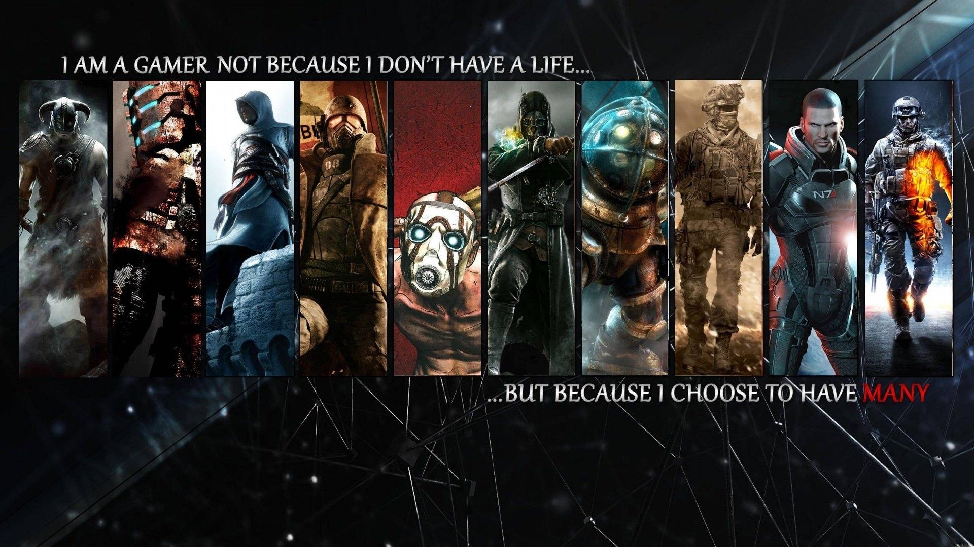 i m a gamer - walldevil