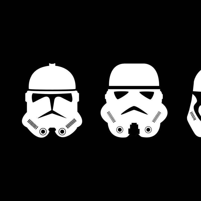 10 New Star Wars Black And White Wallpaper FULL HD 1920×1080 For PC Desktop 2018 free download i made a minimal wallpaper of the clone trooper helmets starwars 800x800