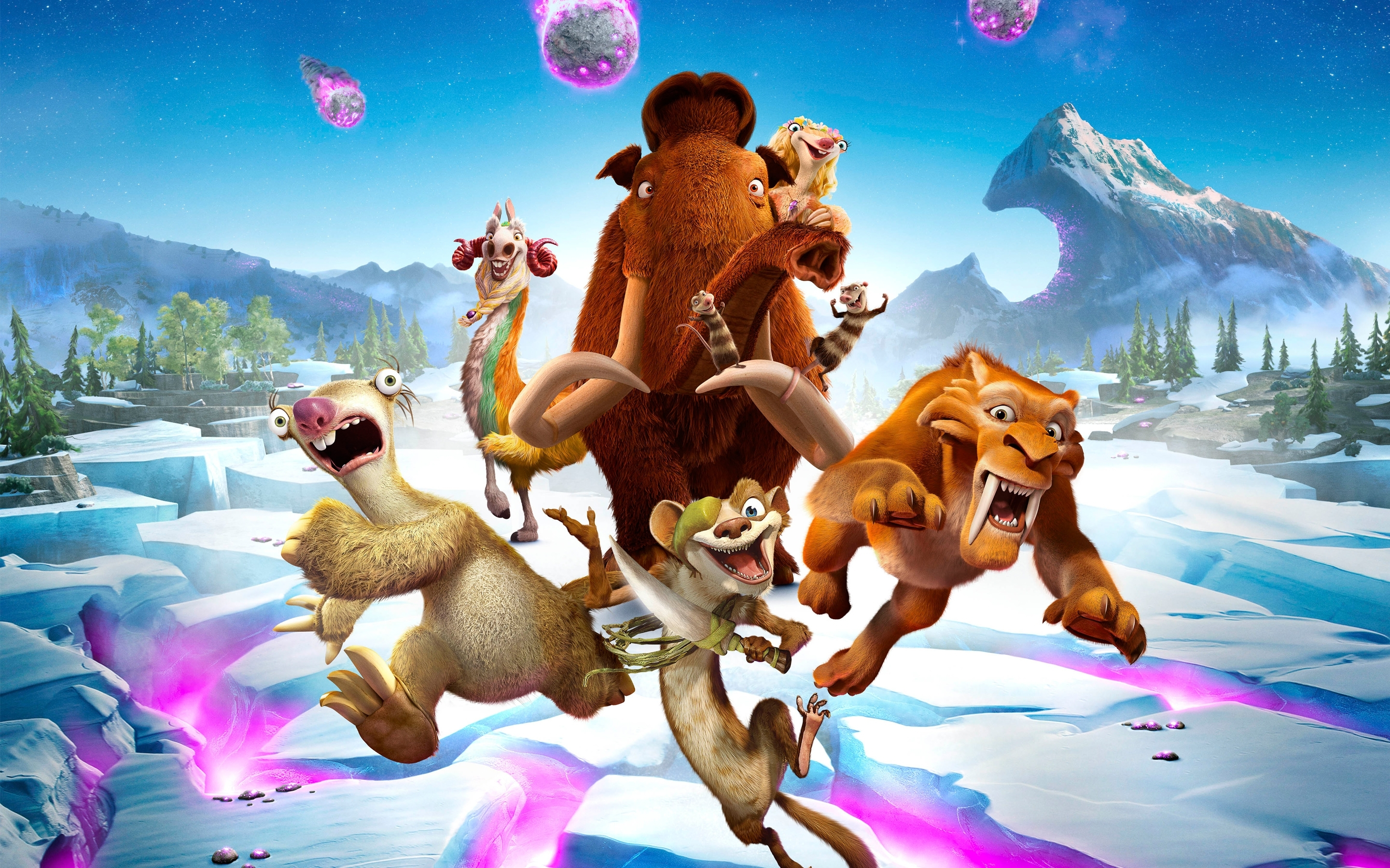 ice age collision course 2016 movie wallpapers   hd wallpapers   id
