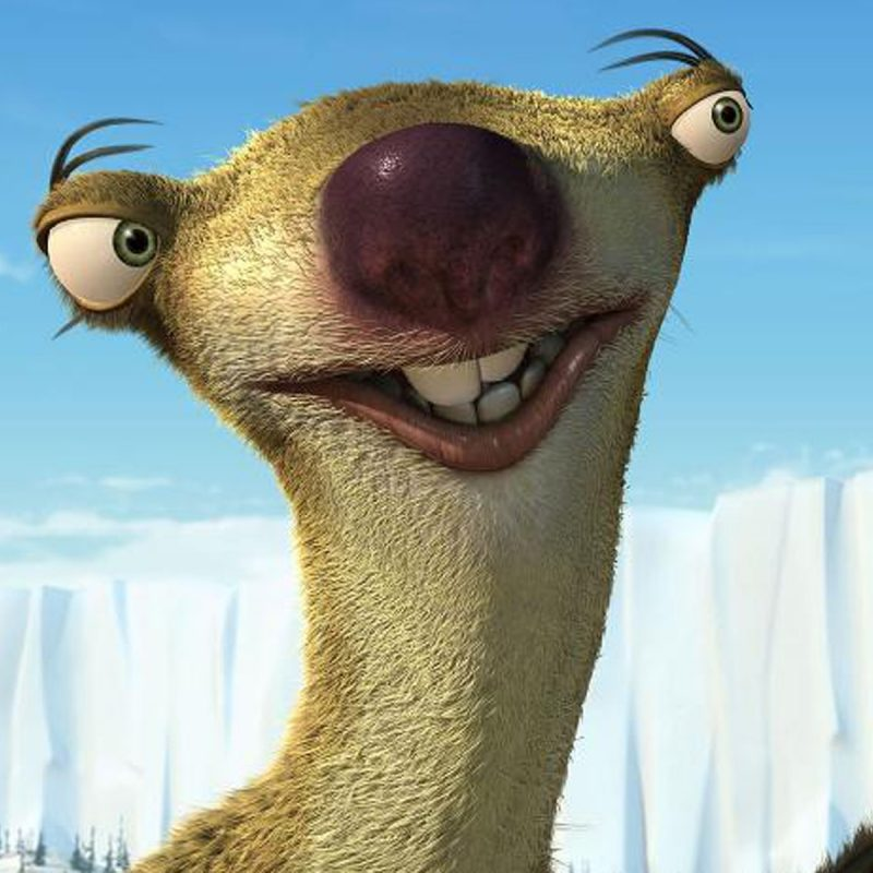 10 Most Popular Ice Age Sid Images FULL HD 1920×1080 For PC Desktop 2018 free download ice age sid images the meltdown hd wallpaper and background photos 800x800