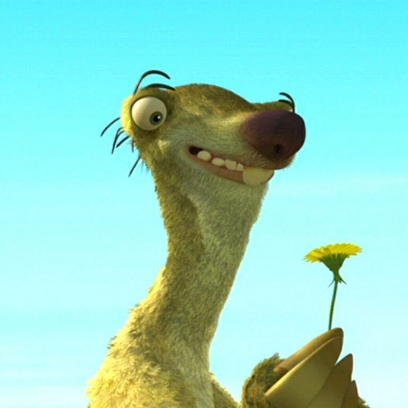 10 Most Popular Ice Age Sid Images FULL HD 1920×1080 For PC Desktop 2020 free download ice age sid with dandelion film wallpaper 800x800