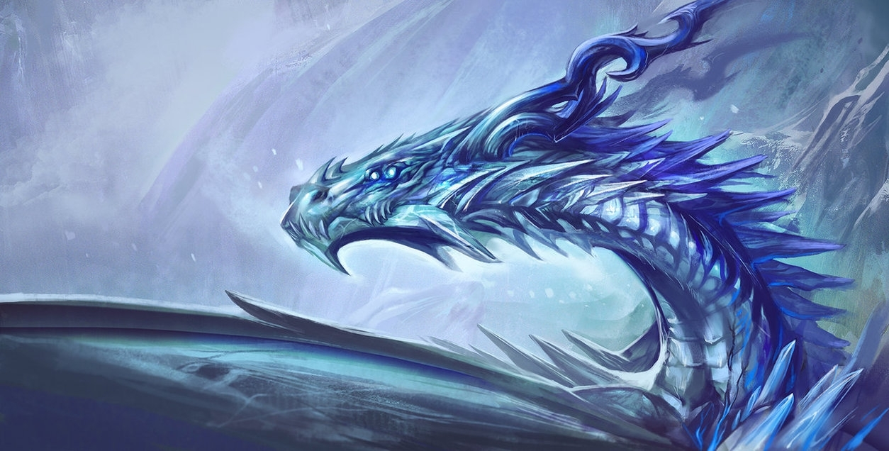 ice dragon - game of thronesexileden on deviantart