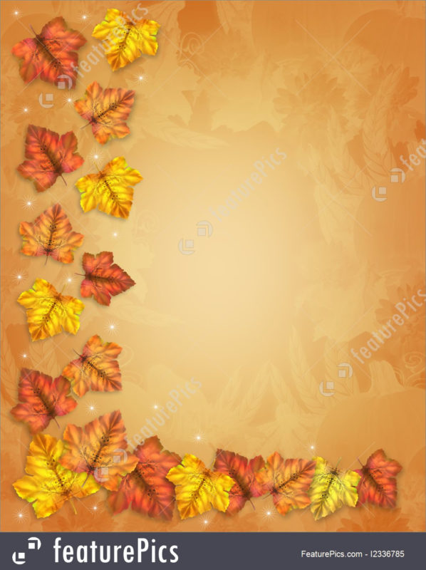 10 New Fall Thanksgiving Images FULL HD 1080p For PC Background 2021 free download illustration of autumn fall leaves border thanksgiving 598x800