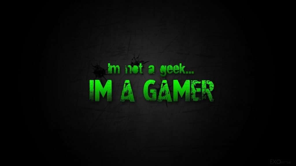 10 Top I Am A Gamer Wallpaper FULL HD 1080p For PC Desktop 2018 free download im not a geek im a gamer wallpapers and images wallpapers 1024x576