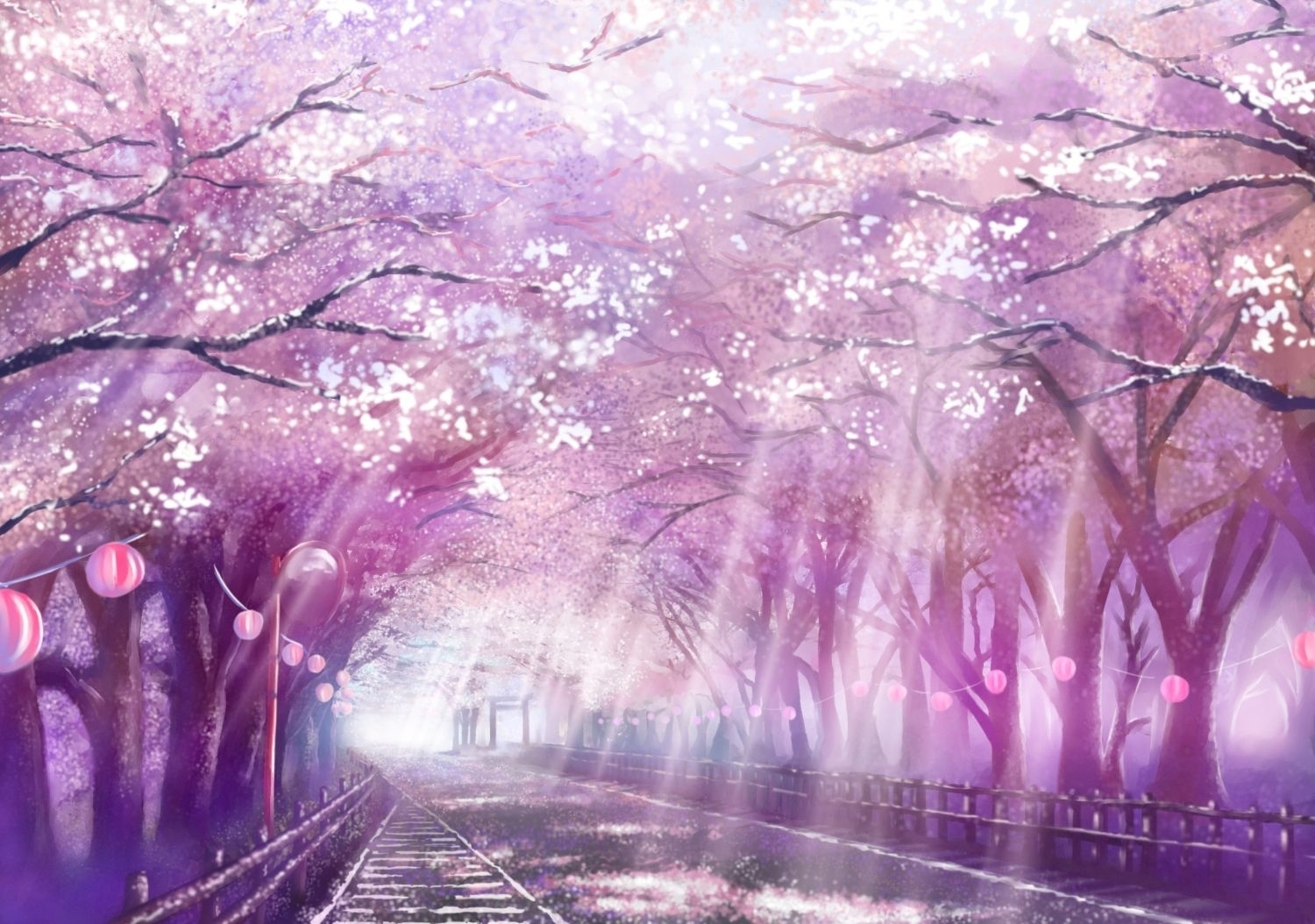 image from http://pcwallart/images/cherry-blossom-tree-anime
