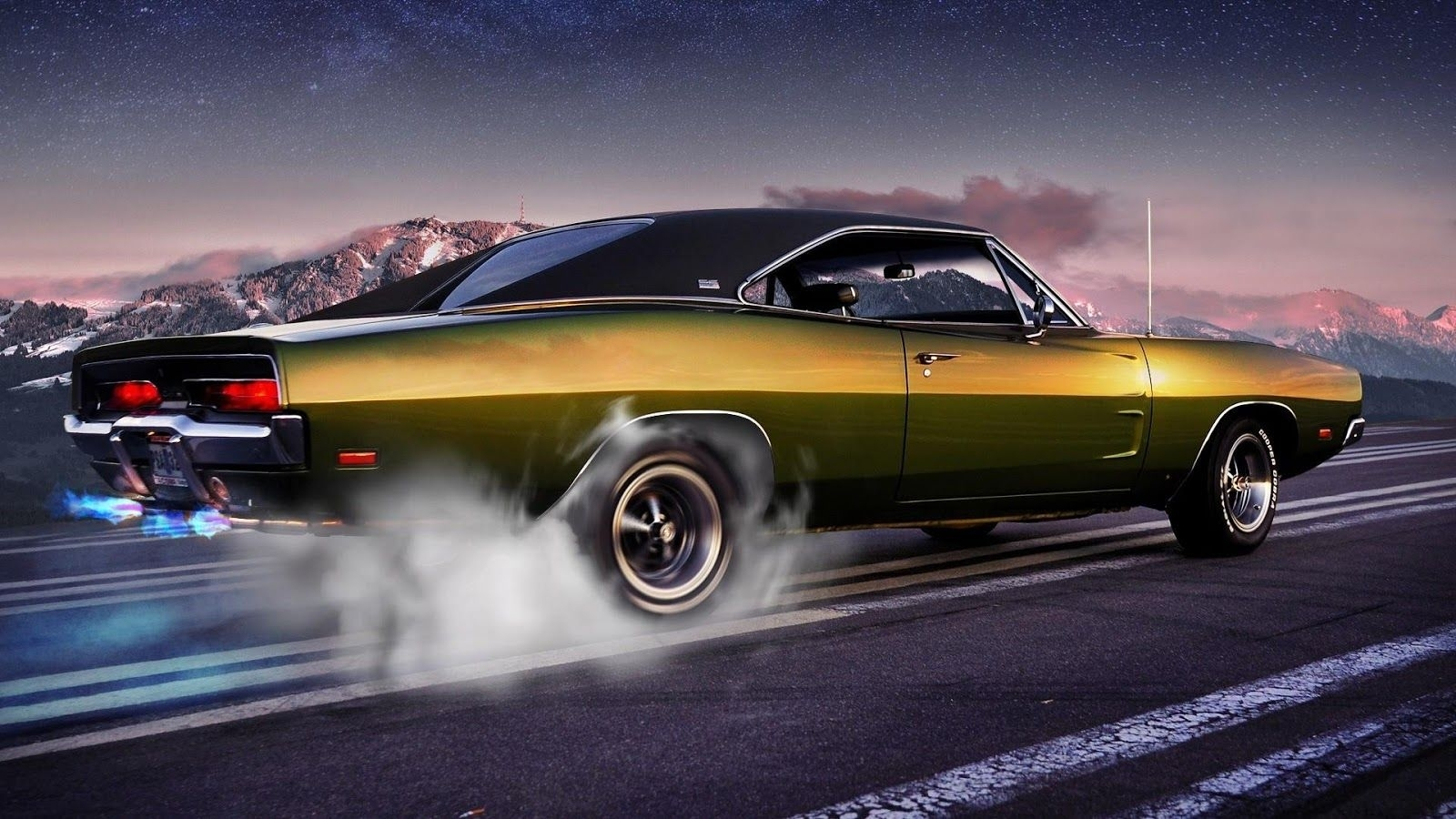 10 Top Old Muscle Car Wallpapers FULL HD 1920×1080 For PC Background