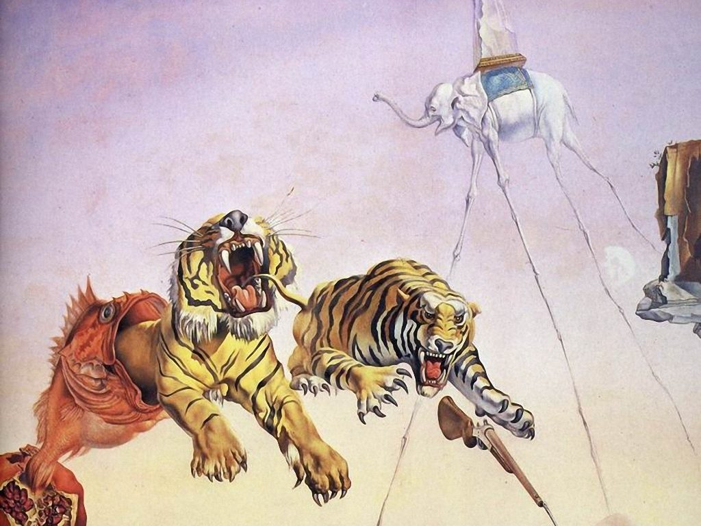 10 Most Popular Salvador Dali Wallpaper Tiger FULL HD 1080p For PC Desktop 2018 free download imagenes de fondo escritorio pantalla wallpapers cuadros pinturas 1024x768