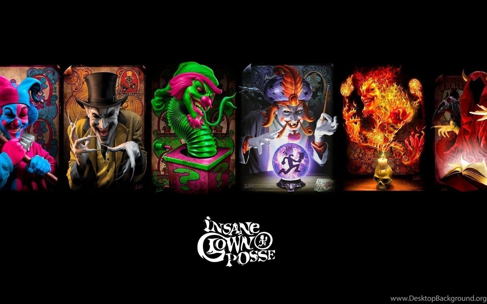 10 Best Insane Clown Posse Backgrounds FULL HD 1080p For PC Desktop