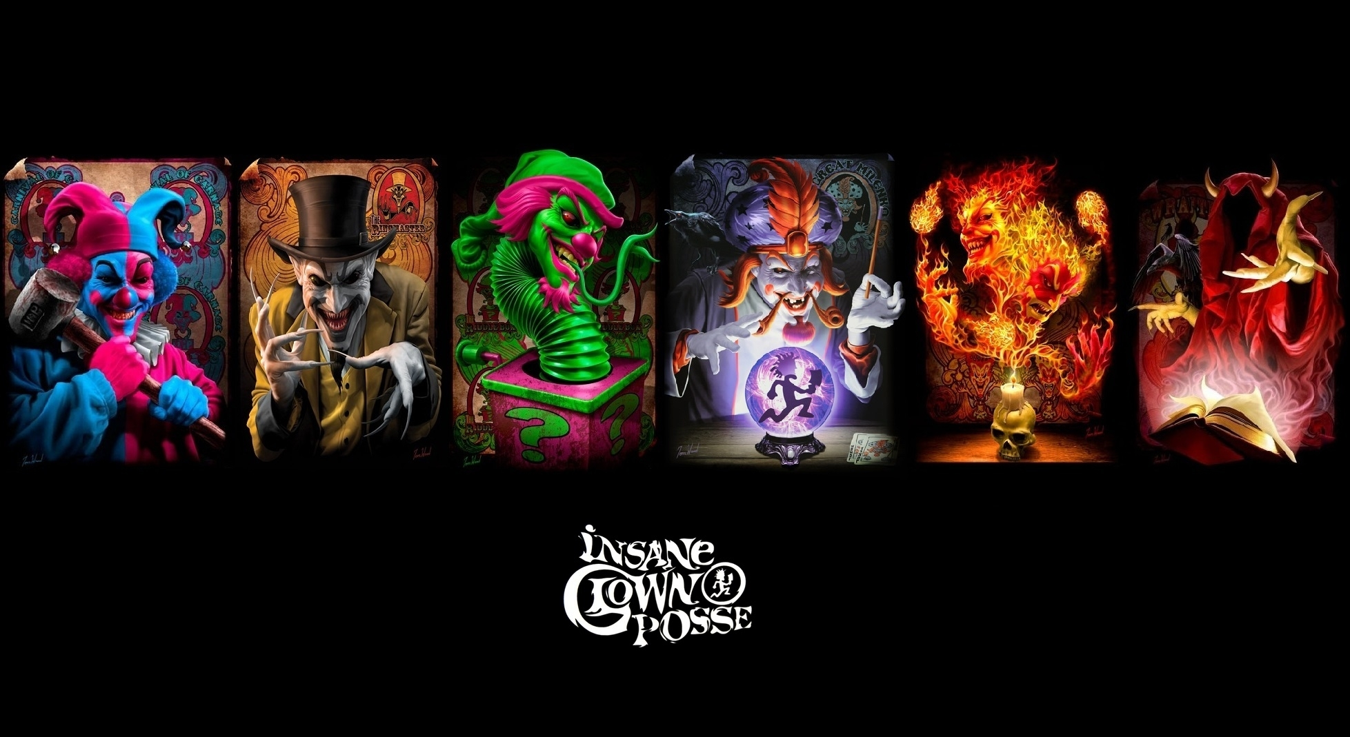 insane clown posse wallpaper | 1957x1069 | id:50152