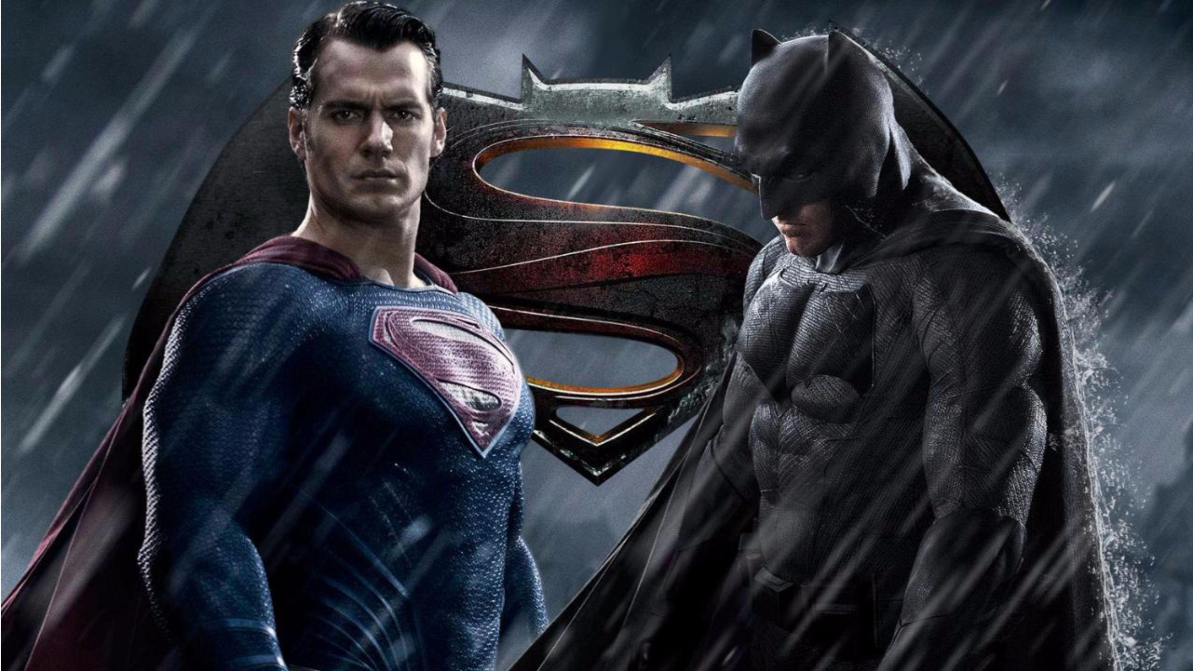 Title Inspiring Batman V Superman Movie 4k Wallpaper