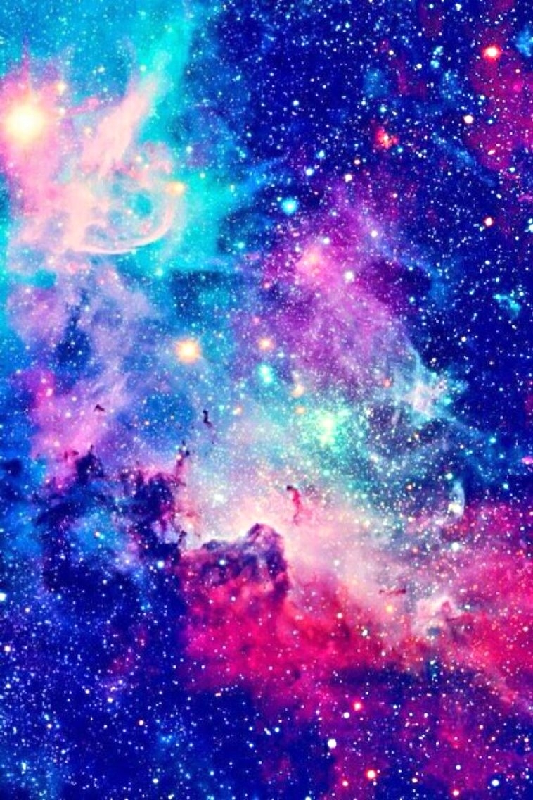 iphone 5, 5s, 6, or 6+ wallpaper. galaxy, aesthetic, tumblr, blue
