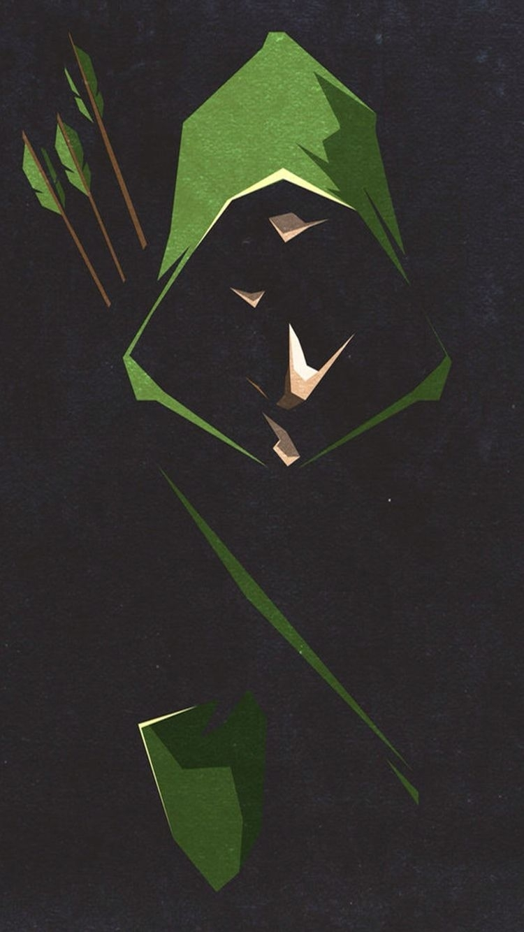 iphone green arrow wallpaper   wallpapers   pinterest   héros, Écran
