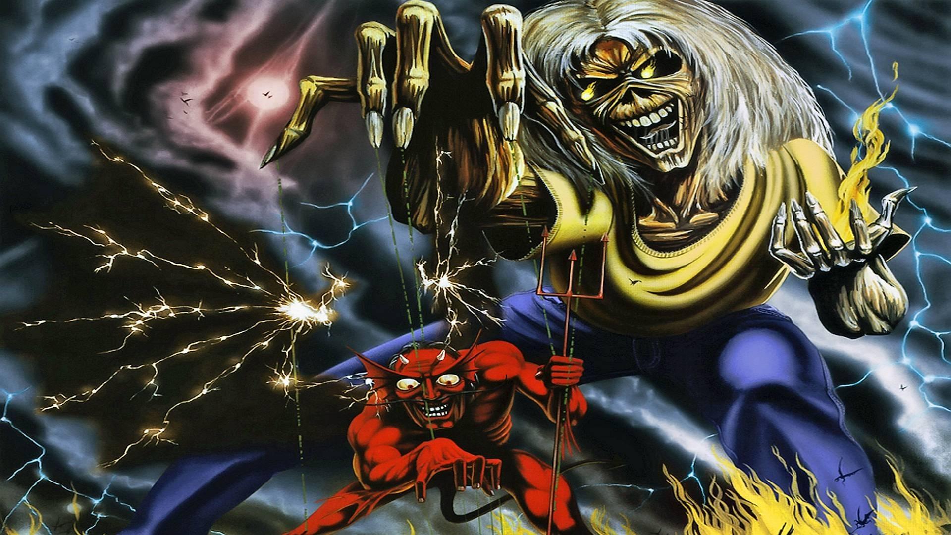10 Top Iron Maiden Eddie Wallpaper FULL HD 1920×1080 For ...