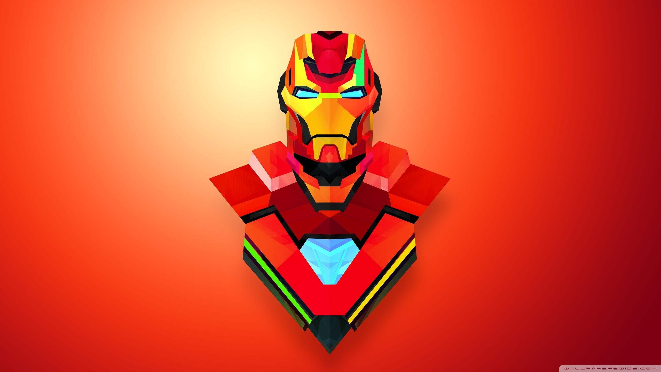 iron man abstract art ❤ 4k hd desktop wallpaper for • wide & ultra