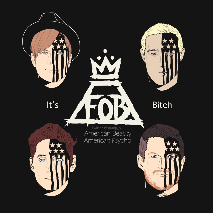 it's fall out boy, bitchostumpo on deviantart