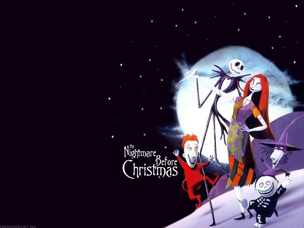 10 New Nightmare Before Christmas Christmas Background FULL HD 1080p ...