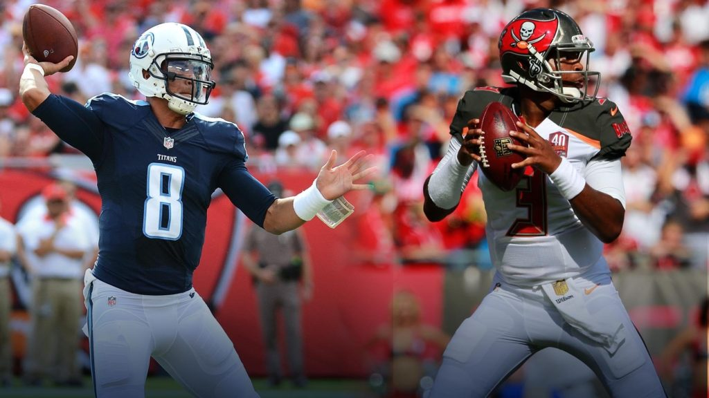 10 Best Jameis Winston Bucs Wallpaper FULL HD 1920×1080 For PC Background 2018 free download jameis winston vs marcus mariota rookie qbs 2015 week 1 1024x576