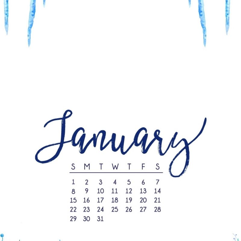 10 Best January 2017 Calendar Wallpaper FULL HD 1920×1080 For PC Background 2018 free download january 2017 calendar tech pretties dawn nicole designs 1 800x800
