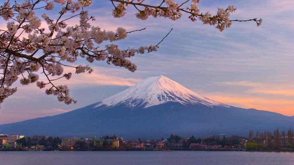 10 Best Cherry Blossom Japan Wallpaper FULL HD 1920×1080 For PC Desktop 2018 free download japan mount fuji cherry blossoms wallpaper 1920x1080 311939 1024x576