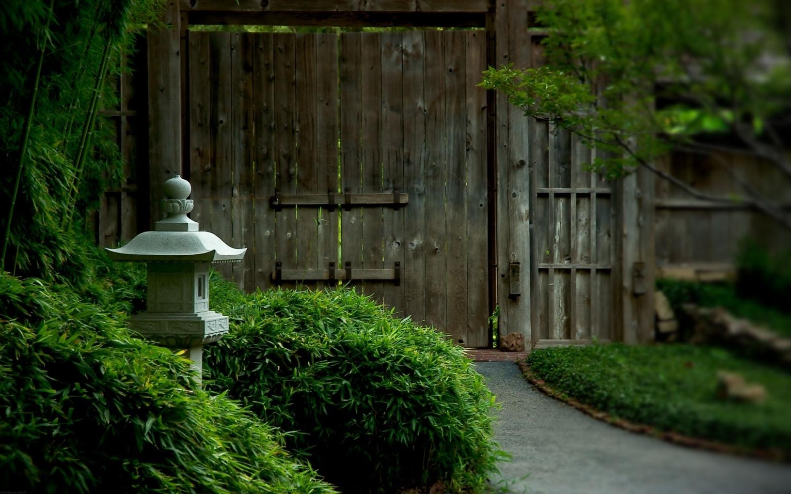 japanese tea garden wallpaper