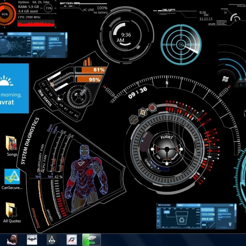 10 Top Iron Man Jarvis Wallpaper FULL HD 1920×1080 For PC