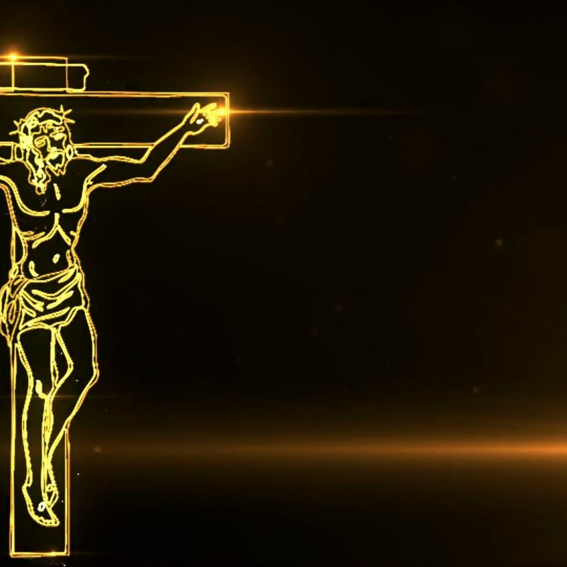 10 New Jesus Christ On The Cross Pictures FULL HD 1080p For PC Background 2020 free download jesus christ on cross being drawn with lights motion background 800x800