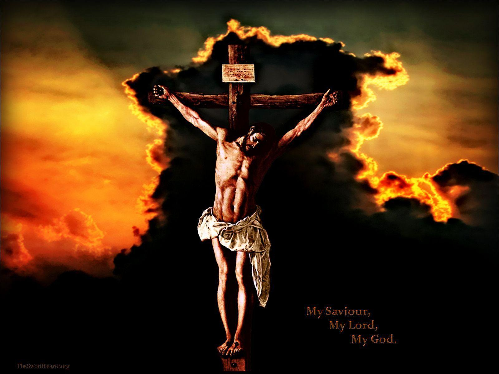 jesus crucifixion wallpapers - wallpaper cave