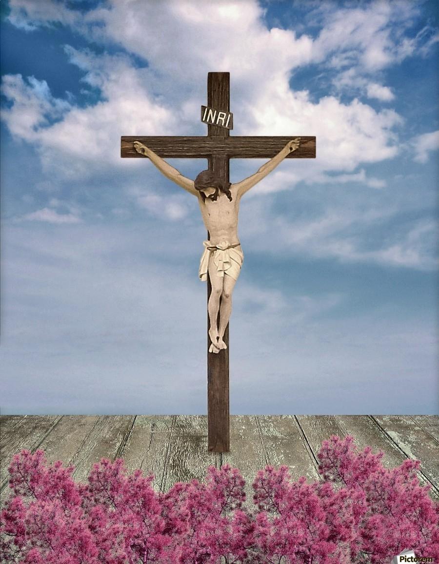 jesus on the cross illustration - daniel ferreia leites ciccarino