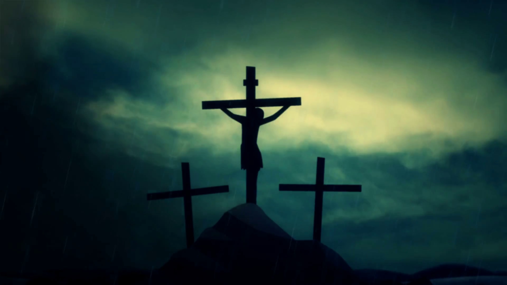 10 Latest Pics Of Jesus On The Cross FULL HD 1080p For PC Background 2018 free download jesus on the cross under a storm and rain motion background 1024x576
