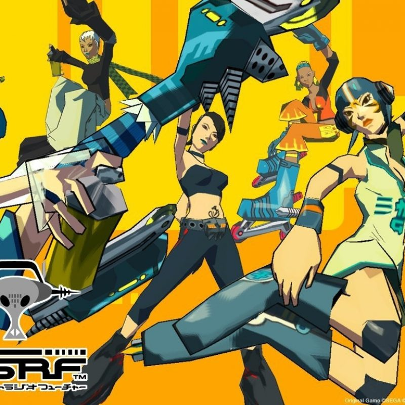10 New Jet Set Radio Future Wallpaper FULL HD 1920×1080 For PC Desktop 2018 free download jet set radio future wallpaper 01 sega scream 800x800