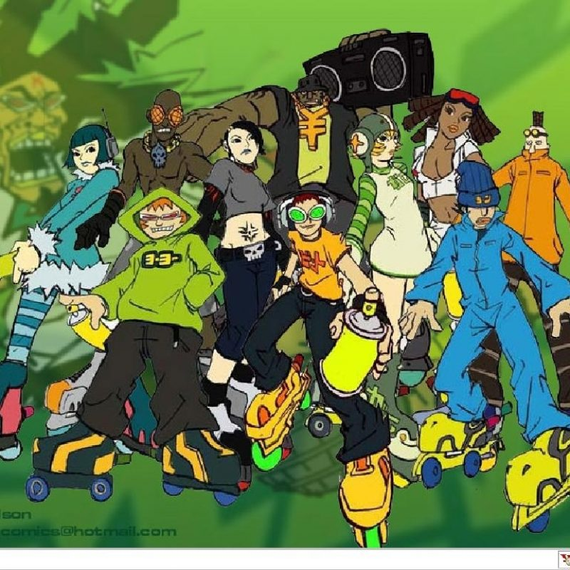 10 New Jet Set Radio Future Wallpaper FULL HD 1920×1080 For PC Desktop 2018 free download jet set radio wallpaperzeekster on deviantart 1 800x800