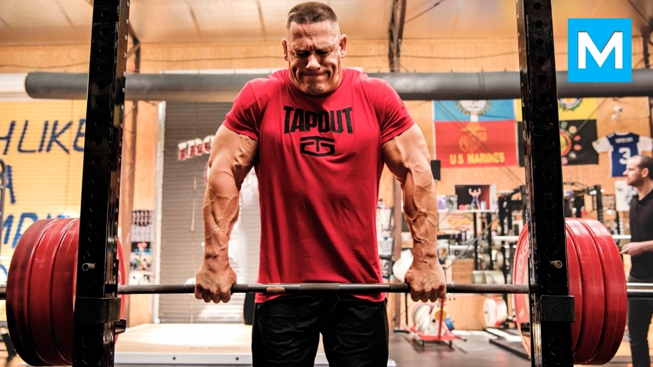 john cena strength workout for wwe | muscle madness - youtube