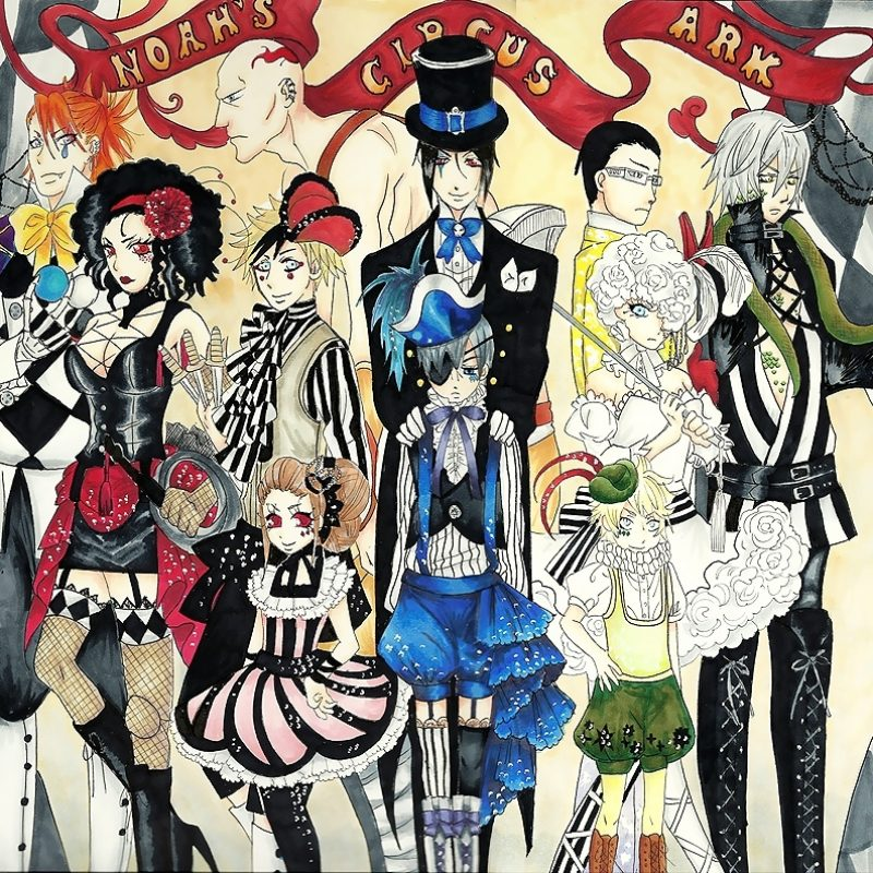 10 Most Popular Black Butler Book Of Circus Wallpaper FULL HD 1080p For PC Desktop 2020 free download joker fanclub images full circus hd wallpaper and background photos 800x800