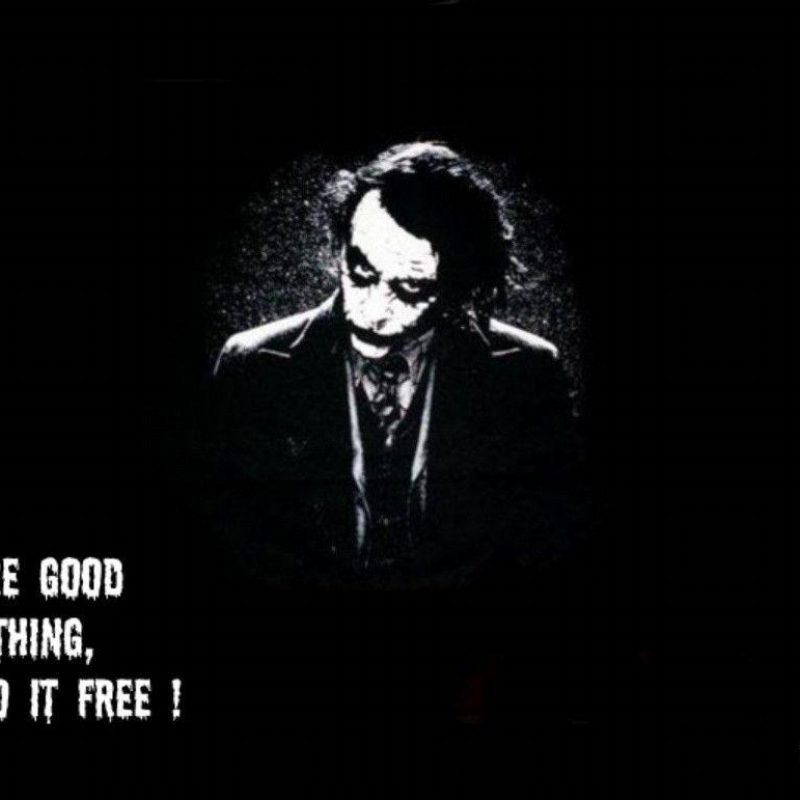 10 New The Joker Wallpaper Quotes FULL HD 1080p For PC Desktop 2018 free download joker quotes wallpapers wallpaper cave 800x800