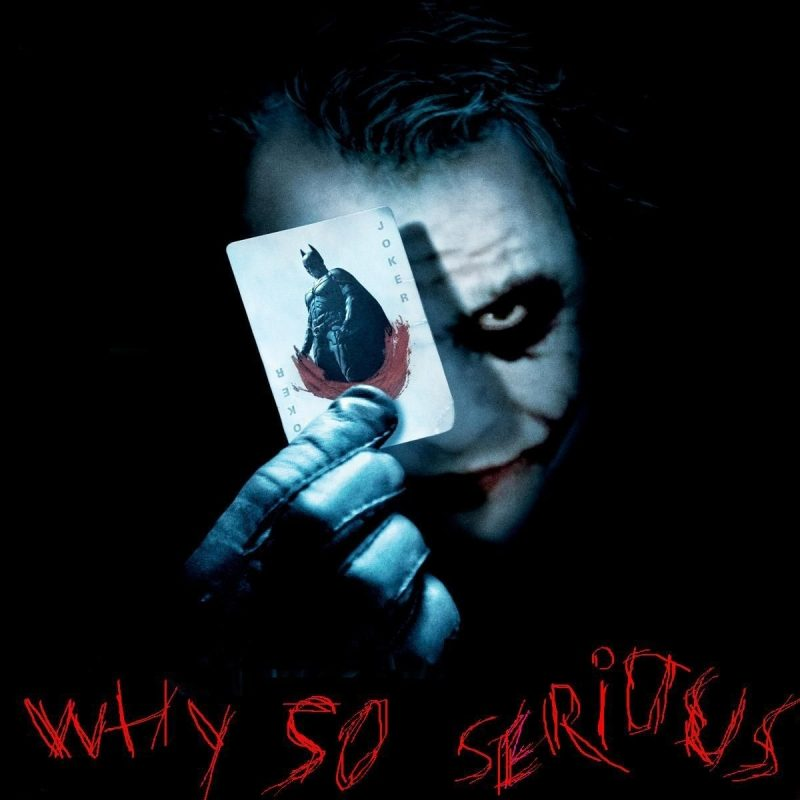 10 New Why So Serious Wallpaper FULL HD 1080p For PC Desktop 2020 free download joker why so serious wallpapers wallpaper cave adorable 800x800