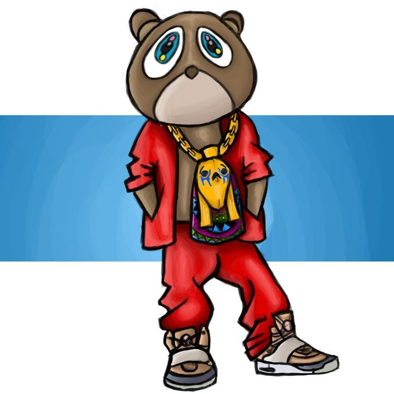 10 Latest Kanye West Bear Drawing FULL HD 1920×1080 For PC Desktop 2018 free download kanye west bearkarate1990 on deviantart 800x800