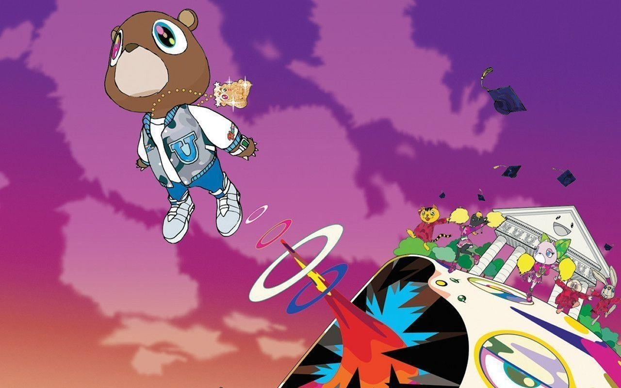 kanye west graduation wallpapers - wallpaper cave