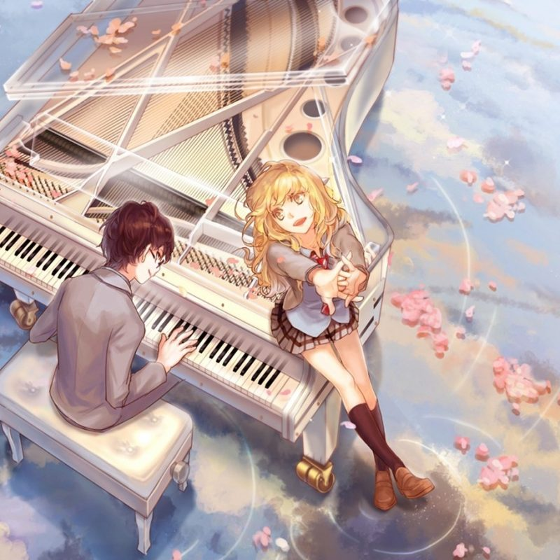 10 Top Your Lie In April Kaori Wallpaper FULL HD 1920×1080 For PC Desktop 2018 free download kaori and arima fond decran and arriere plan 1366x911 id636415 800x800