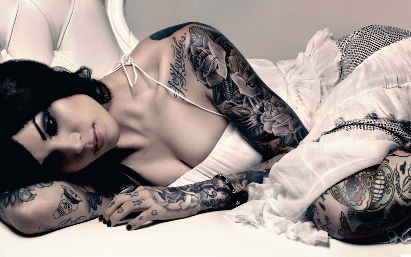 kat von d wallpaper, hot and sexy lingerie picture, tattoo images