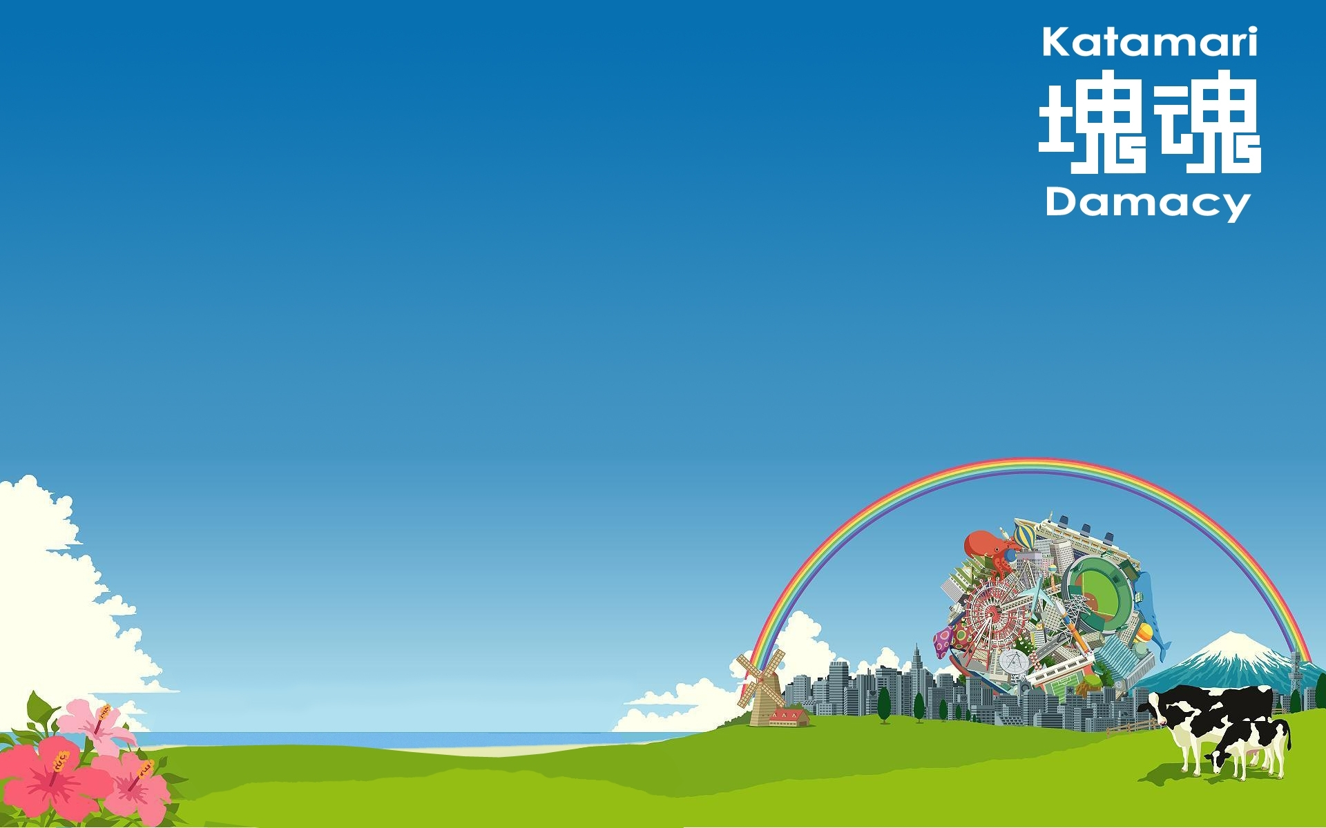 10 Latest Katamari Damacy Wallpaper 1920X1080 FULL HD 1920×1080 For PC Desktop