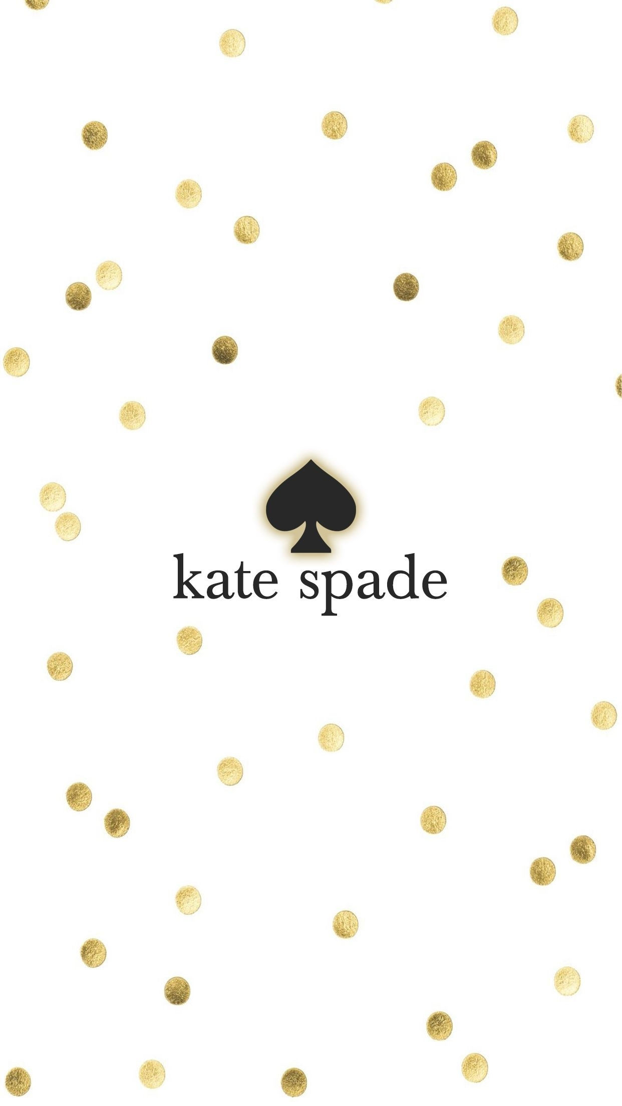 kate spade gold iphone wallpaper background | wallpapers