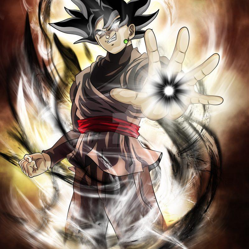 10 Latest Black Goku Wallpaper Hd Full Hd 1080p For Pc Desktop