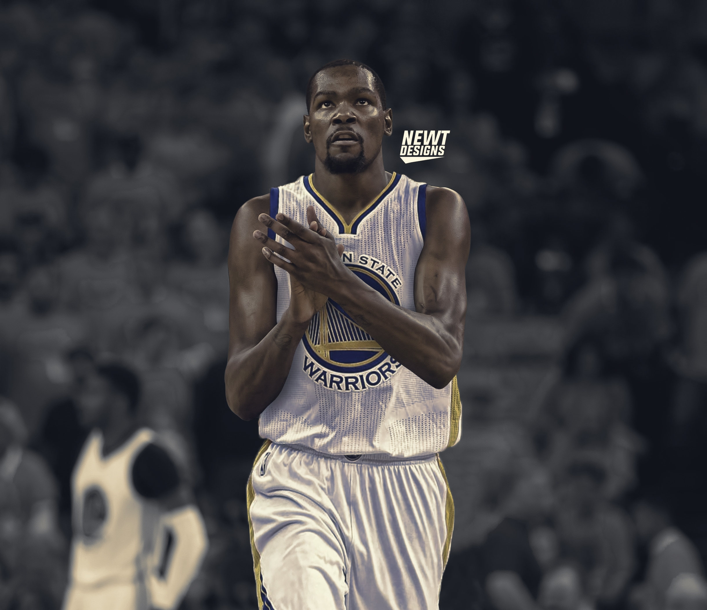 kevin durant warriors wallpaper for iphone ~ desktop wallpaper box