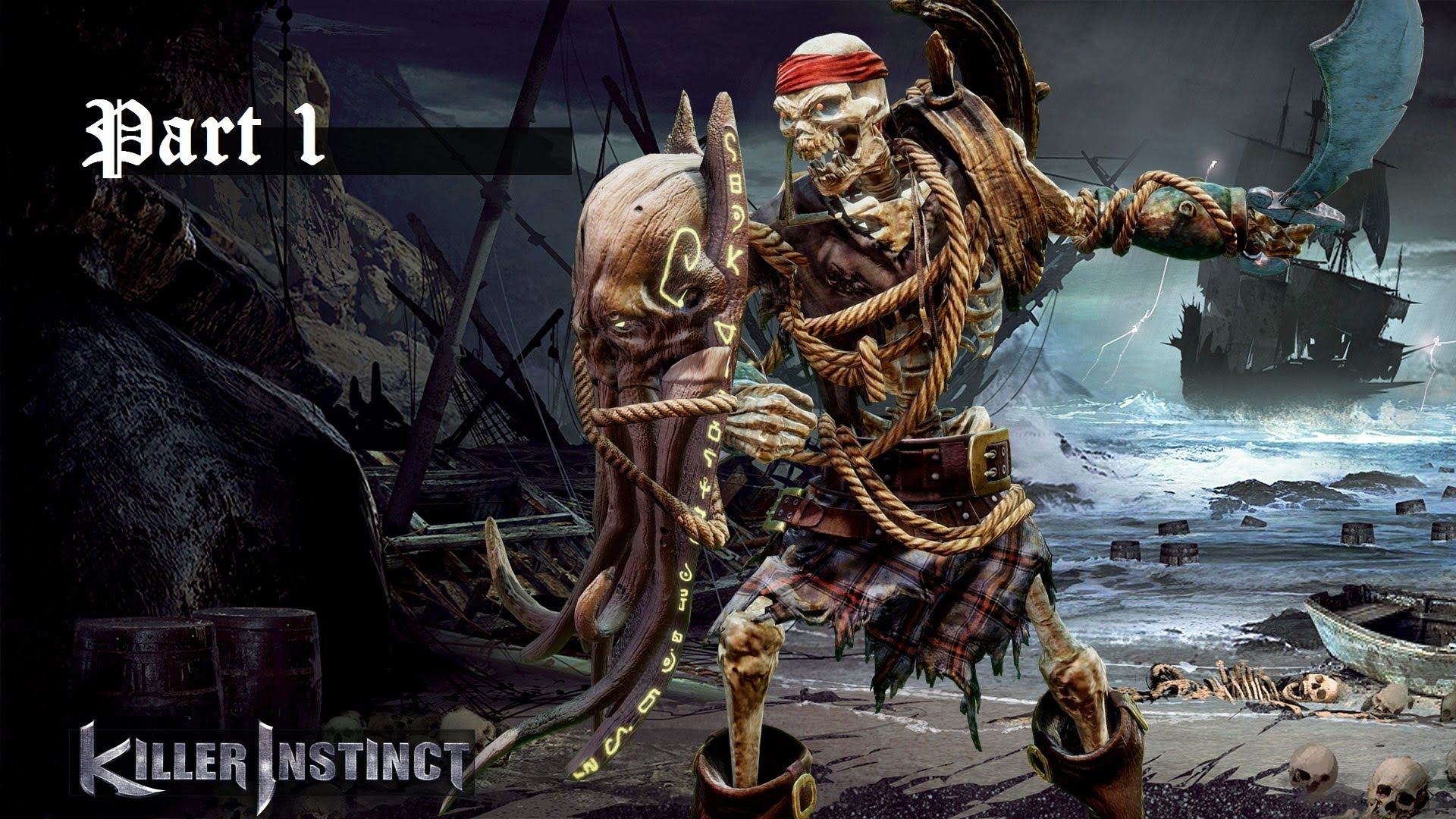 killer instinct - spinal story mode part 1 (walkthrough, playthrough