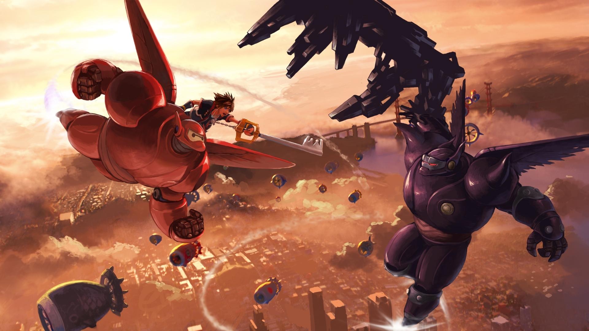 kingdom hearts 3 images big hero 6 concept art hd wallpaper and